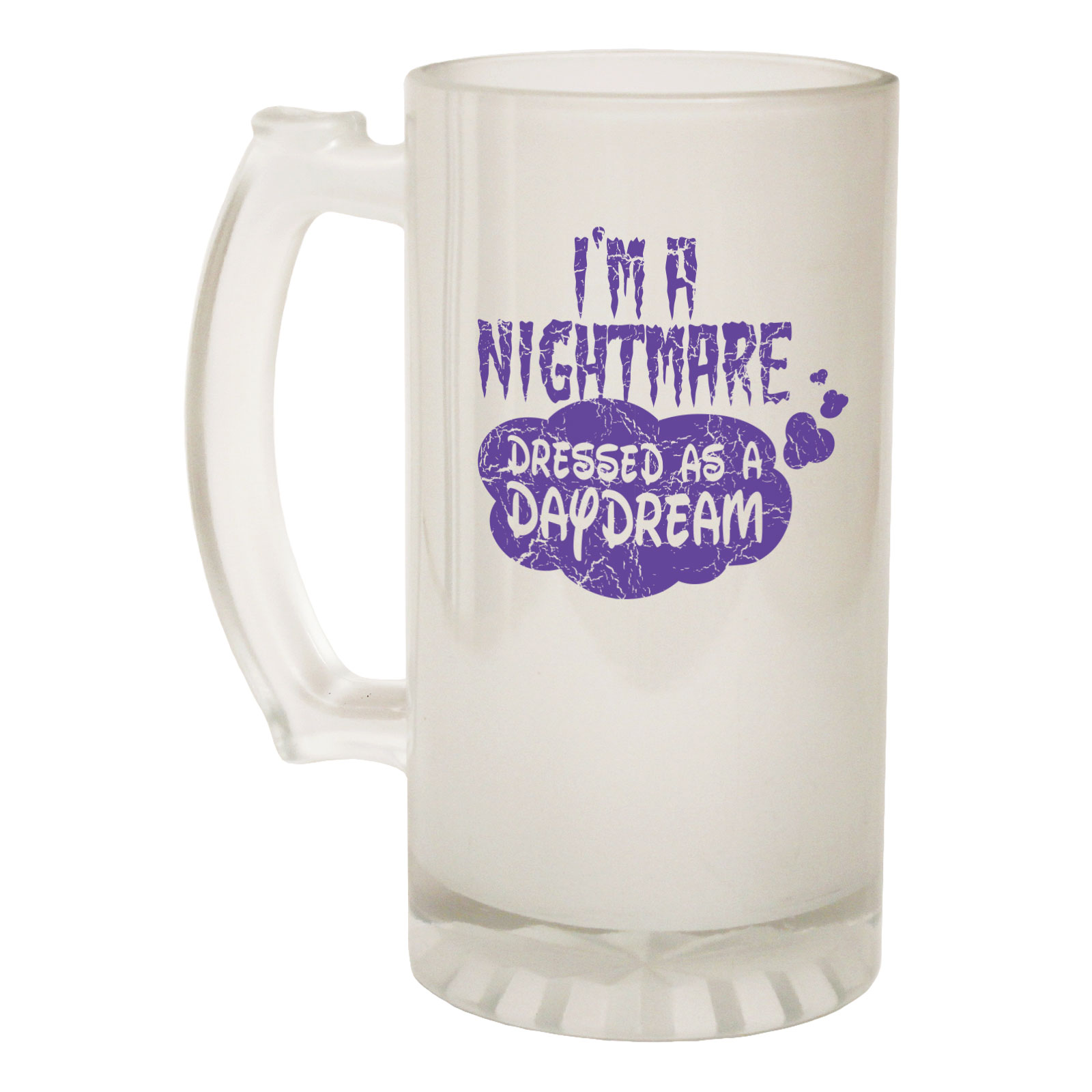 Bar Tools & Accessories Beer Stein Im A Nightmare Dressed Funny Novelty Christmas Birthday Pint Glass