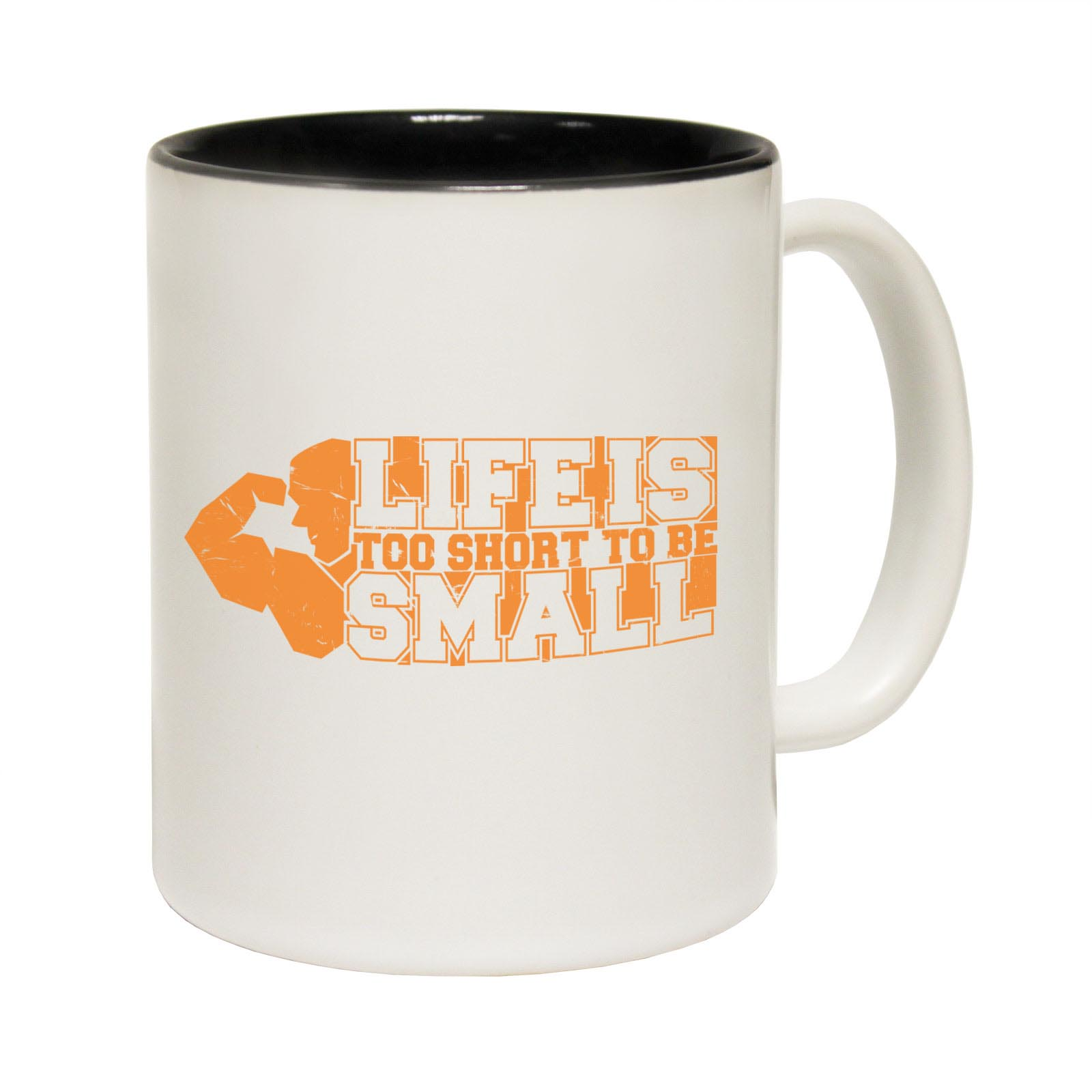 miniature 4 - Funny Coffee Mug Novelty Birthday Gift Swps Life Is Short To Be Small