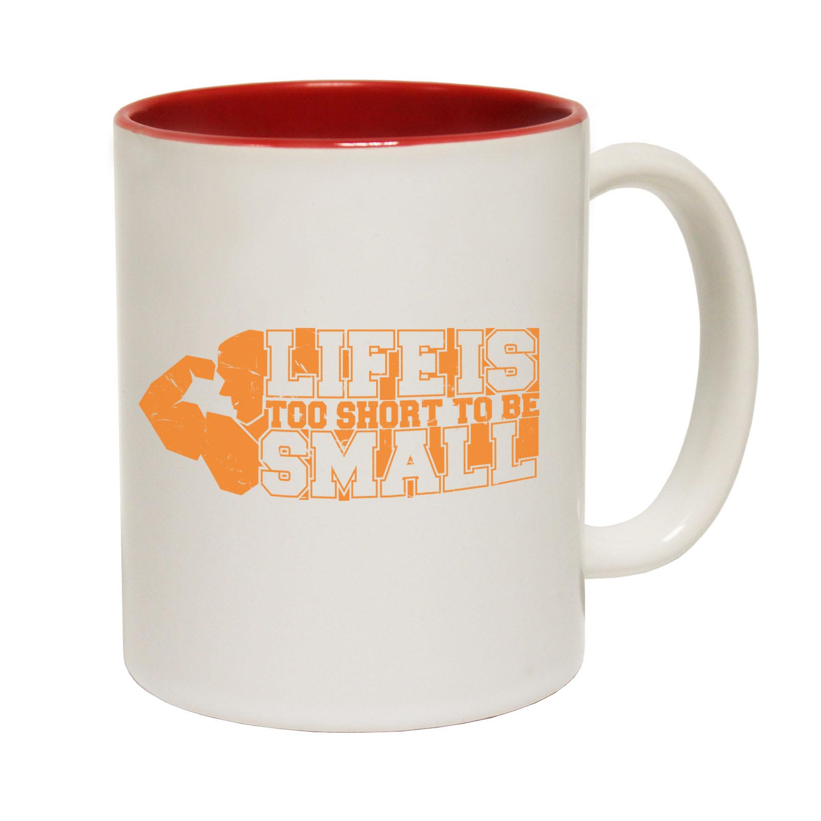 miniature 5 - Funny Coffee Mug Novelty Birthday Gift Swps Life Is Short To Be Small