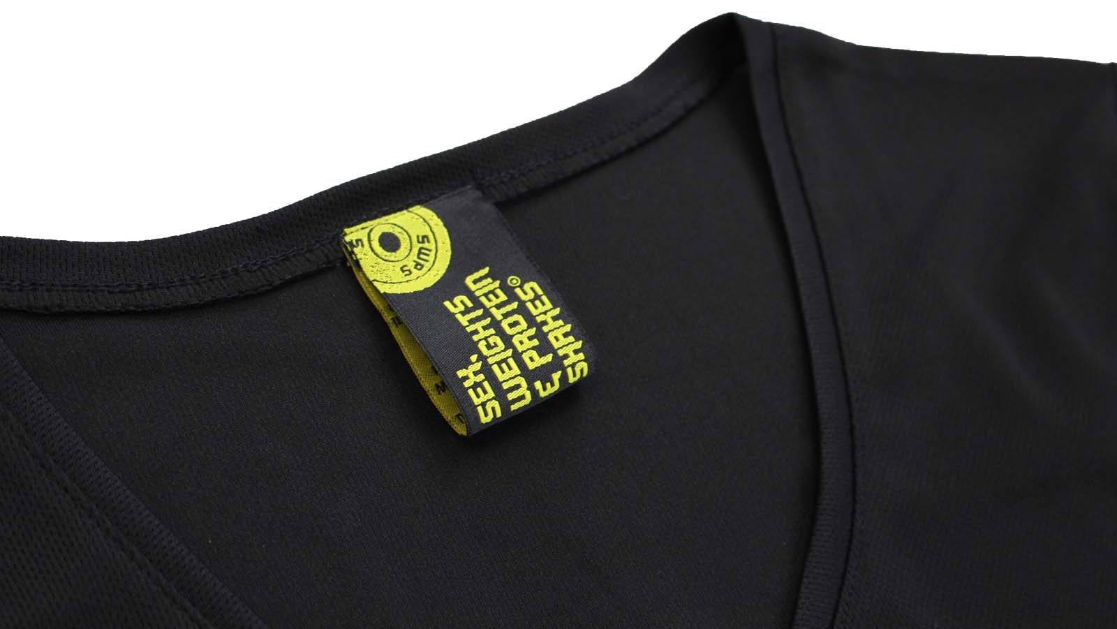 Gym Bodybuilding T-Shirt Drôle Femme Col V T-shirt Performance-Boucles pour le Gur
