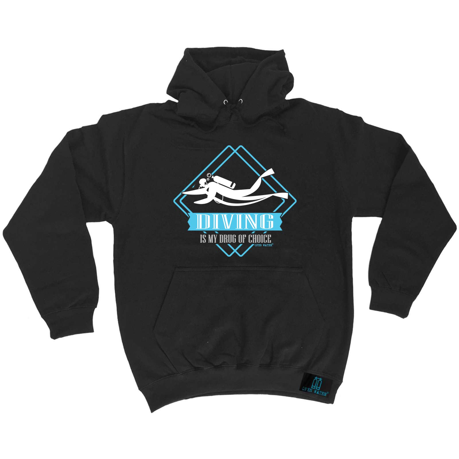 Scuba Scuba Scuba Diving Hoodie Hoody Funny Novelty hooded Top - Drug Of Choice Diving 0c607c