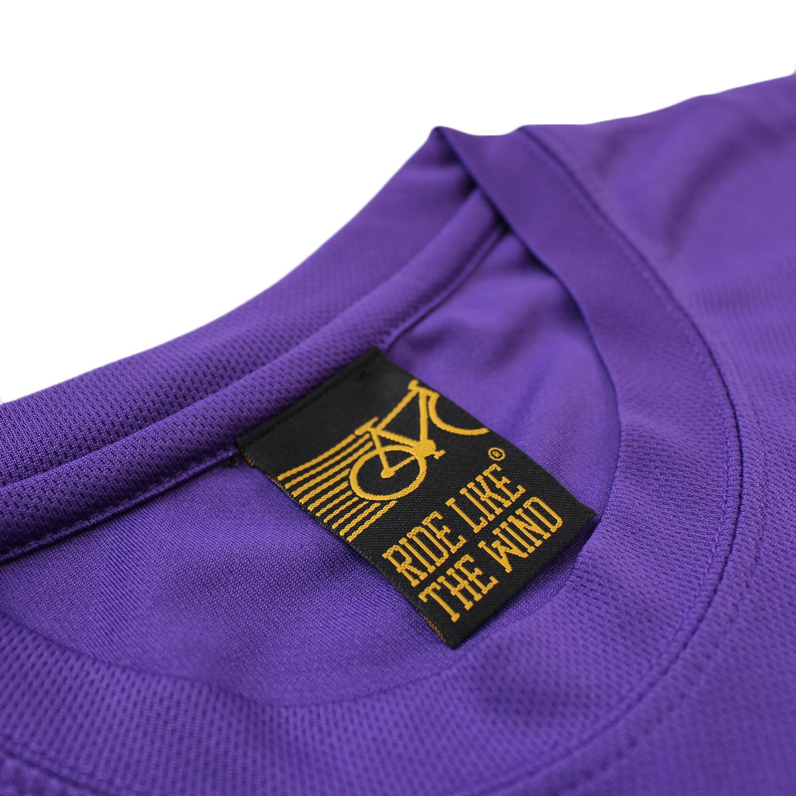 Kaleidospoke Cycling T-Shirt Funny Mens Sports Performance Tee